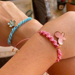 Mommy and Me braided bracelet set